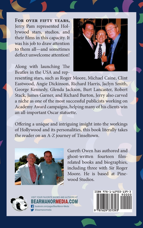 Amazon: Jerry Pam: Memoirs Of A Hollywood Publicist (hardback)  (9781629331393): Jerry Pam, Gareth Owen: Books
