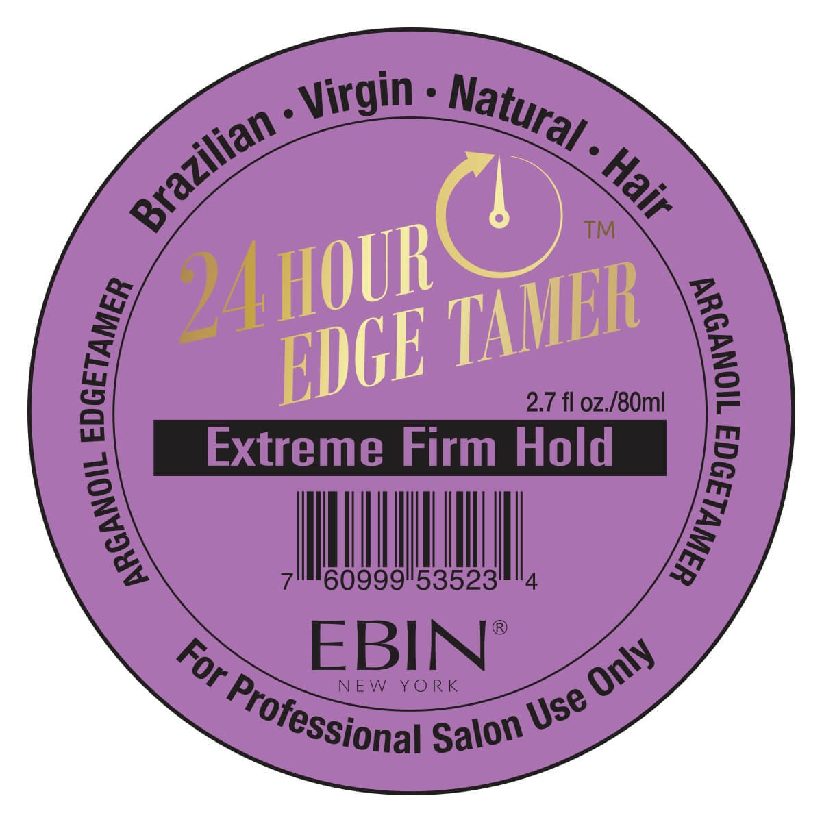 Ebin New York 24 Hour Edge Tamer (24Hr EXTREME FIRM HOLD 2.7oz)