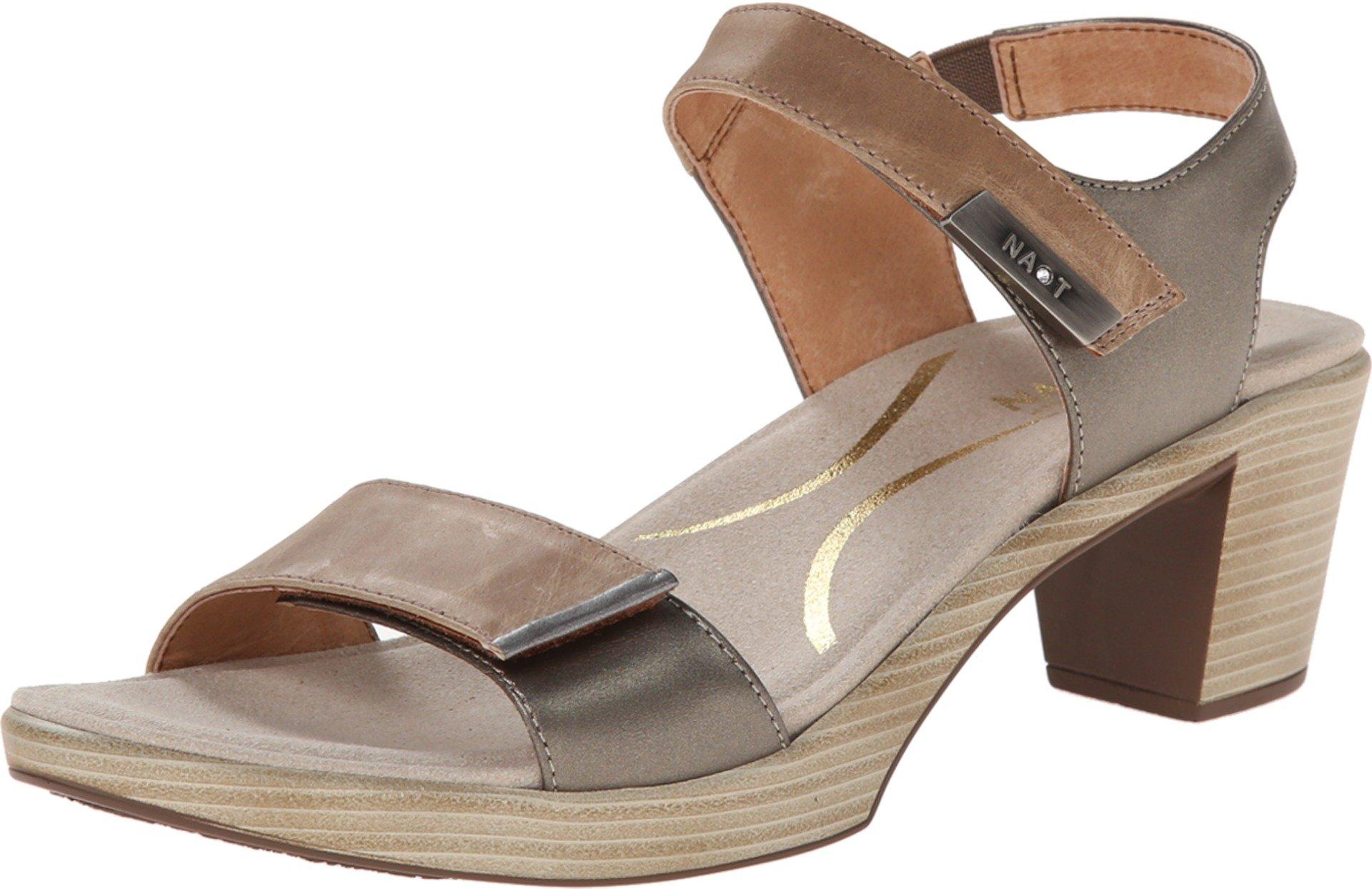 Naot Women's Intact Dress Sandal, Khaki Beige, 39 EU/8 M US