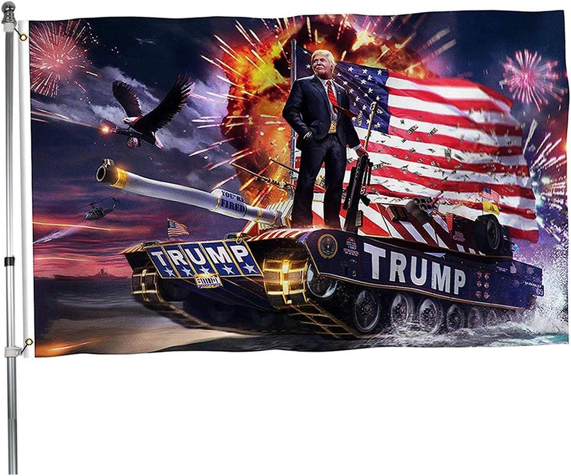 3x5 foot Make America Great Again 2020 Donald Trump Tank Flag FAST SHIP!!