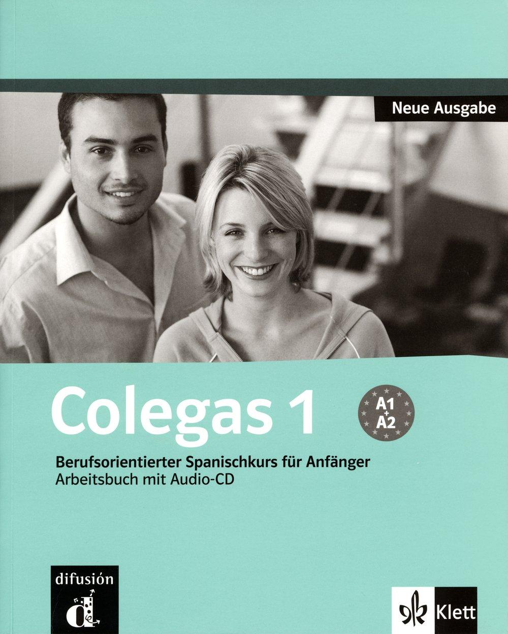 Colegas 1 Neue Ausgabe: Berufsorientierter Spanischkurs für Anfänger. Cuaderno de ejercicios + CD (Klettausgabe)