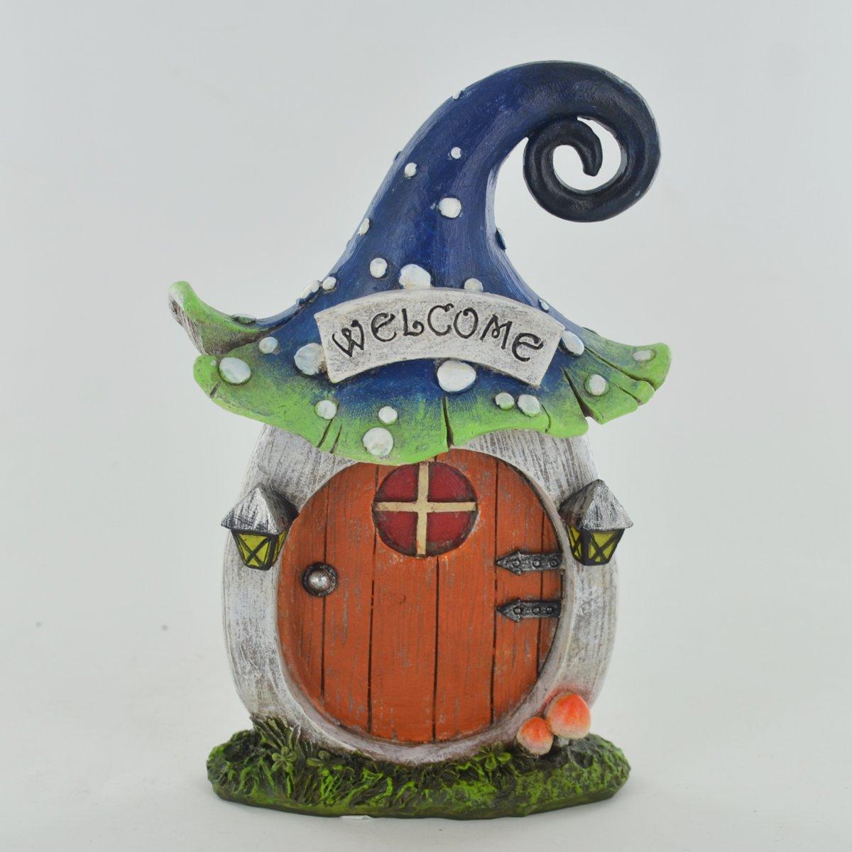 Fairy Garden UK Vervaco–Porta piccolo Garden Outdoor Decor novità scultura per Pixie Elf H16CM Fiesta Studios