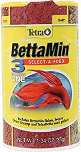Tetra Betta 3-in-1 Select-A-Food, 38g