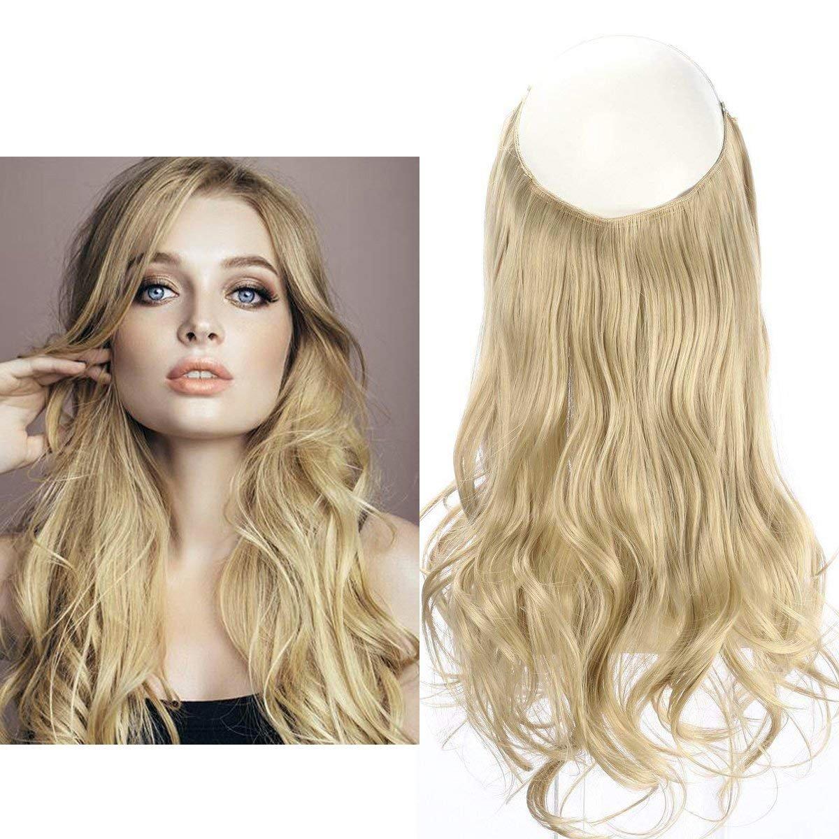 Sunny 14inch 80g Halo Hair Extensions Human Hair 18613 Dark Ash