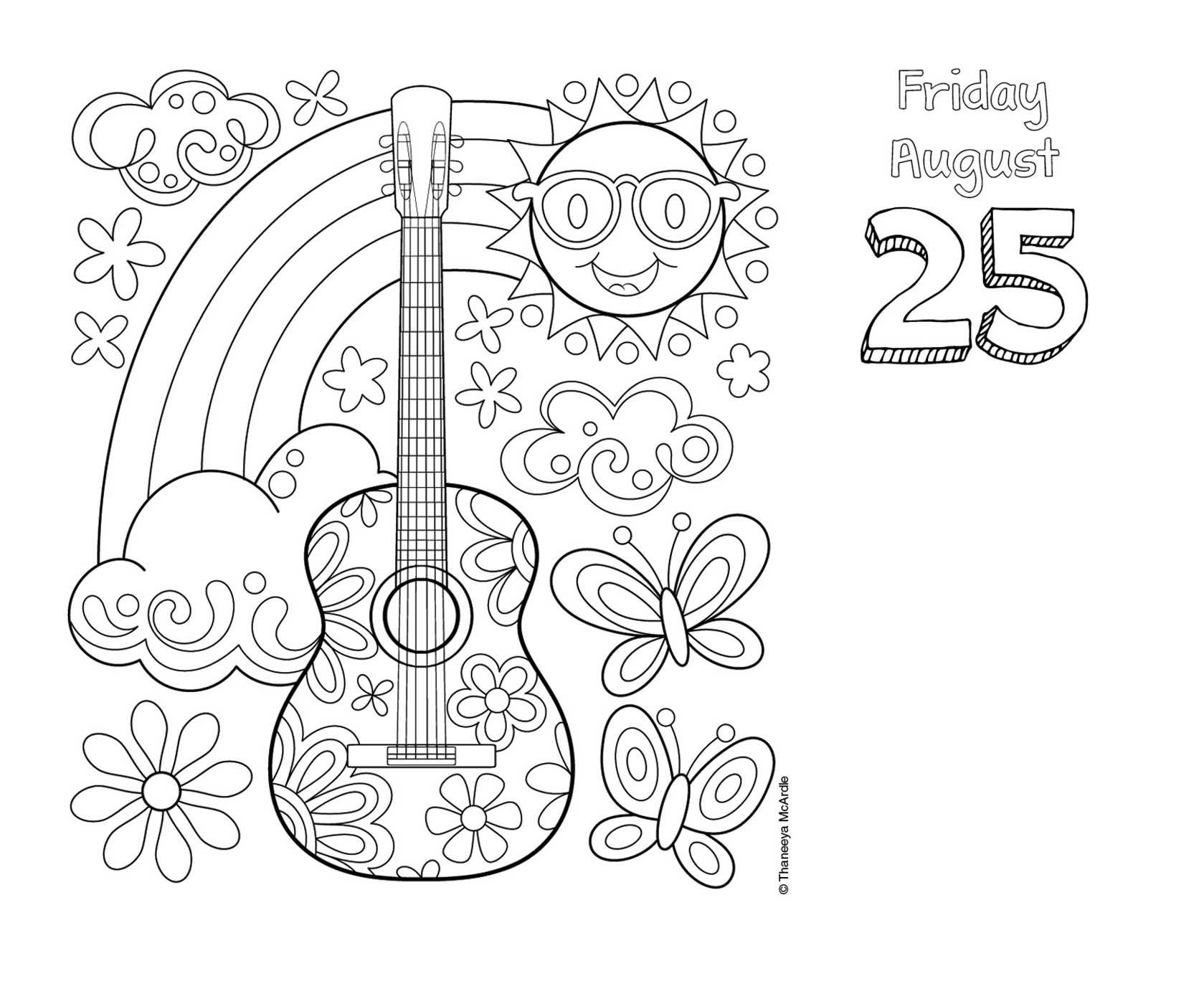 The coloring book project 2nd edition - Posh Coloring 2017 Day To Day Calendar Thaneeya Mcardle 9781449477141 Amazon Com Books