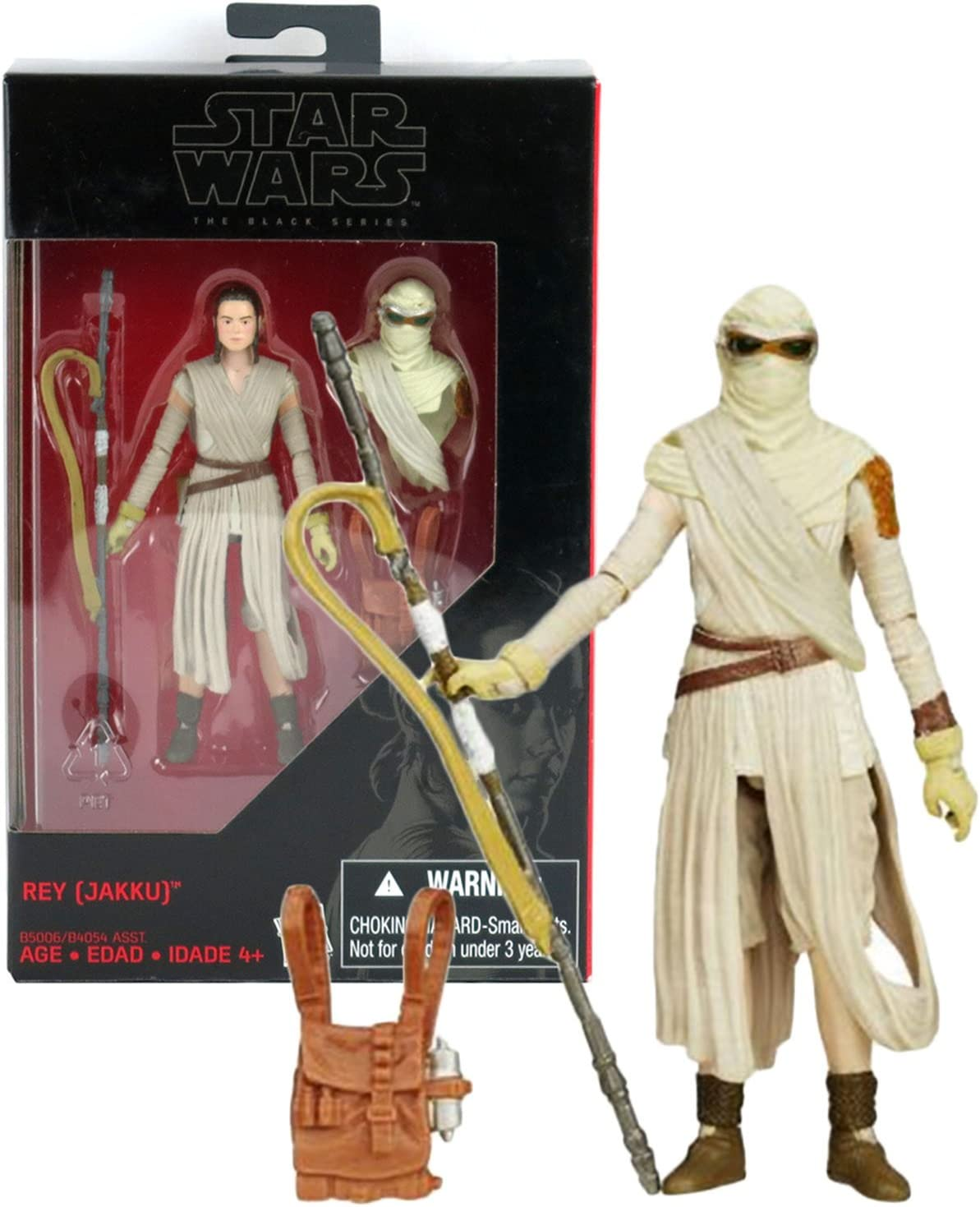 Star Wars The Black Series Rey Jakku Figure Walmart Exclusive 3.75/""