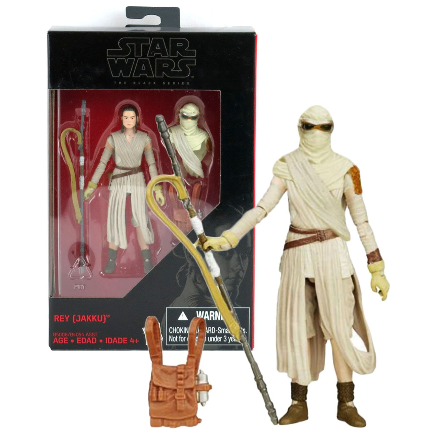 Star Wars Rey Jakku Exclusive Action Figure 2015 The Black Series 3.75 Inches B5006