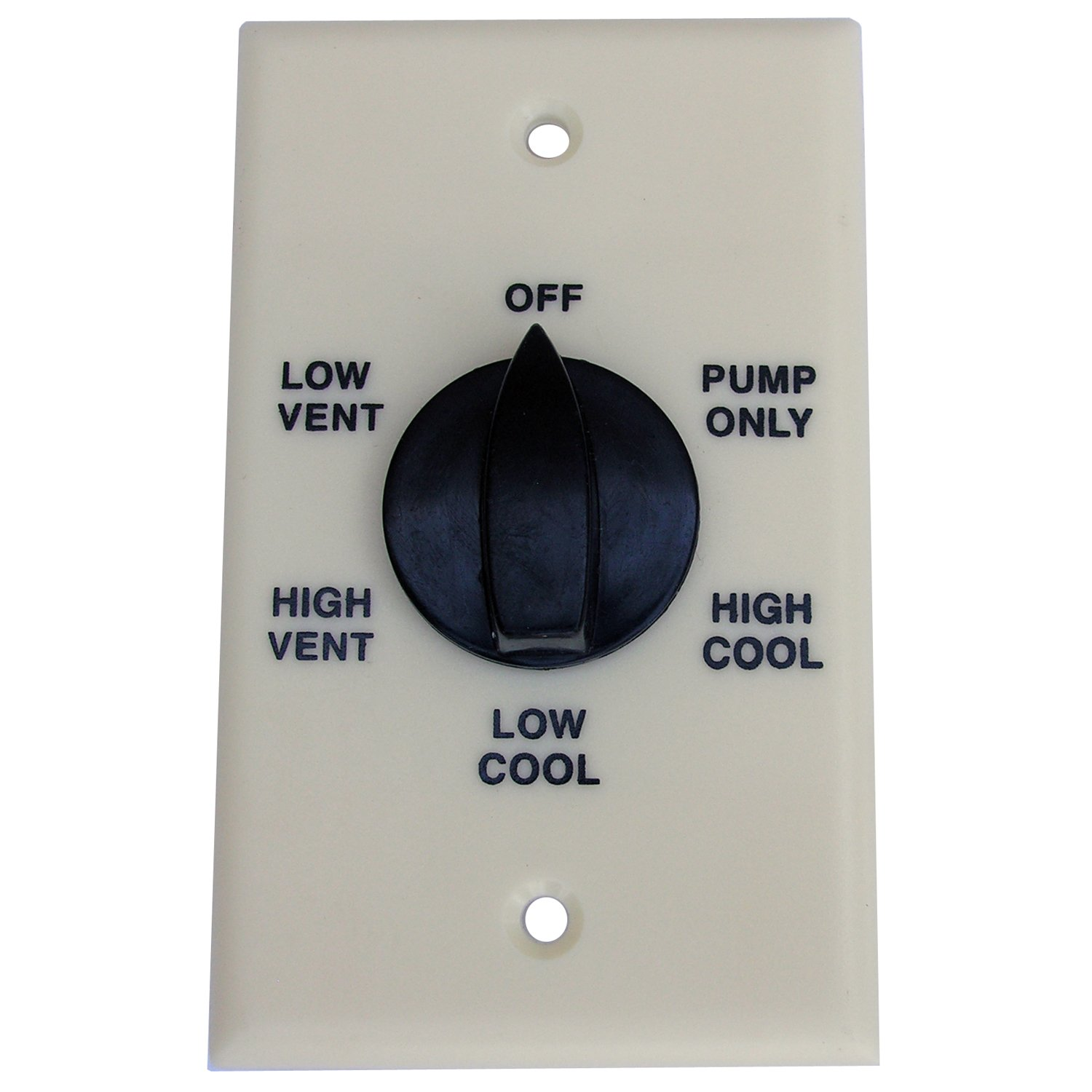 LASCO 36-0233 Evaporative Water Cooler Thermostat with Two Speed Six Position Switch by LASCO (Image #1)