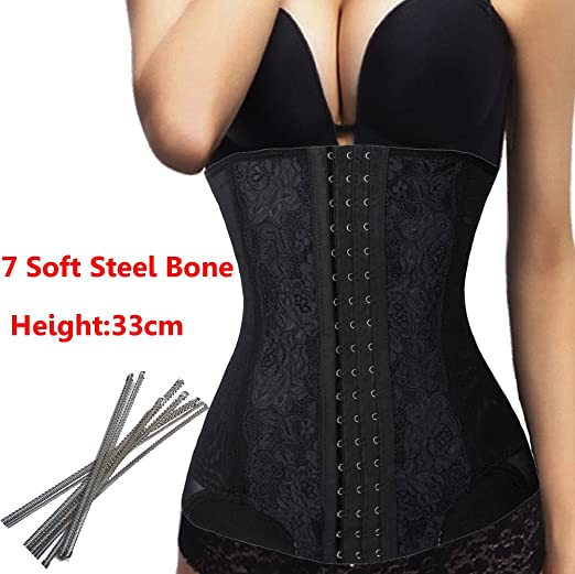 5ff90f5ba85a6 Image Unavailable. Image not available for. Color  DODOING Waist Trainer  Corset Tummy Control Waist Training Body Shaper Slimmer