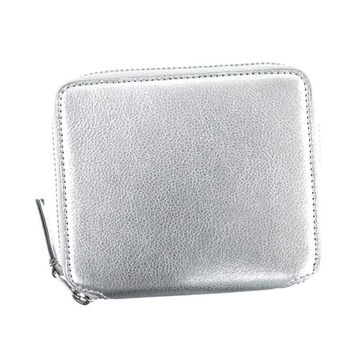 [コムデギャルソン] ラウンドファスナー二つ折り財布 SILVER シルバー [並行輸入品]   B07F82PF3J