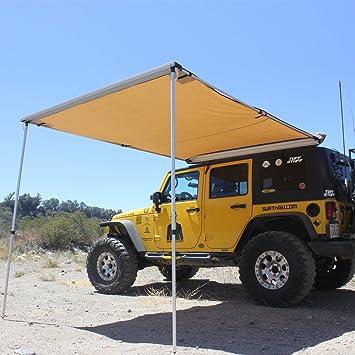 amazon com tuff stuff 6 5 x 8 rooftop awning automotive