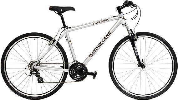 2020 Motobecane Elite Sport Aluminum 21 Speed Front Suspension Hybrid Bicycle
