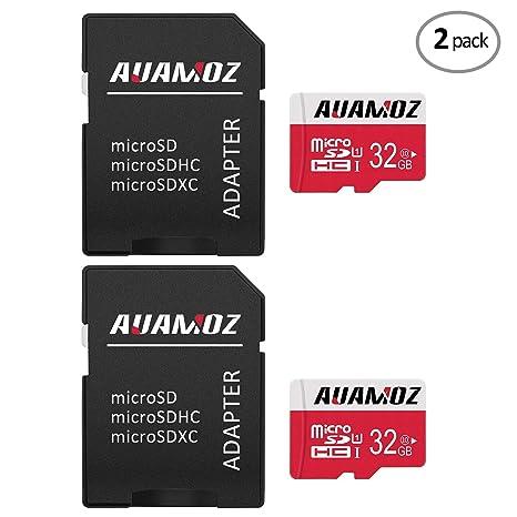 AUAMOZ - Tarjeta de memoria Micro SD (64 GB, clase 10, UHS-I, alta ...
