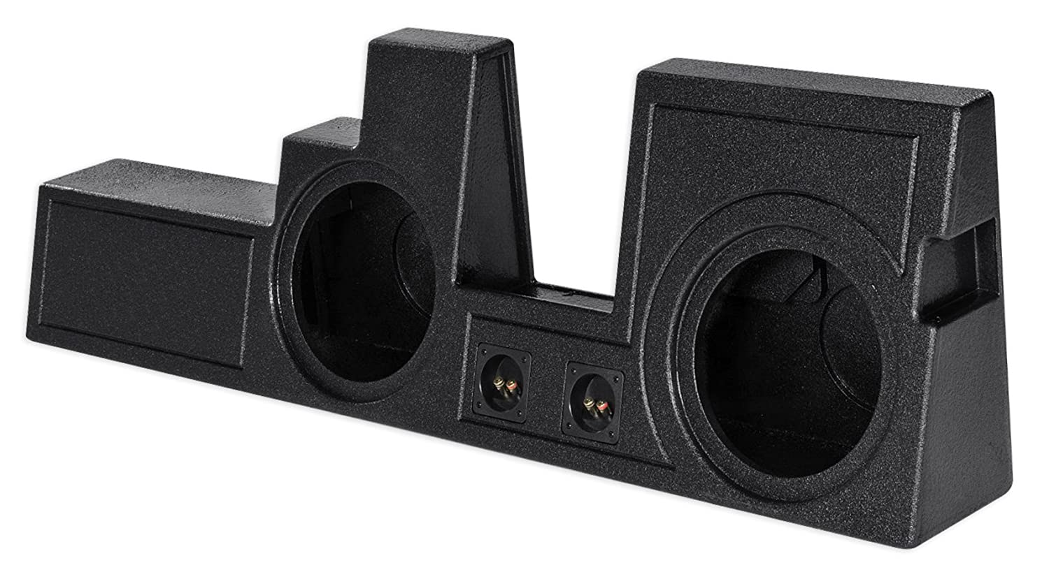 Super Duty Dual 12 Ported Subwoofer Box Enclosure For 2000 16 Ford F250 350 450