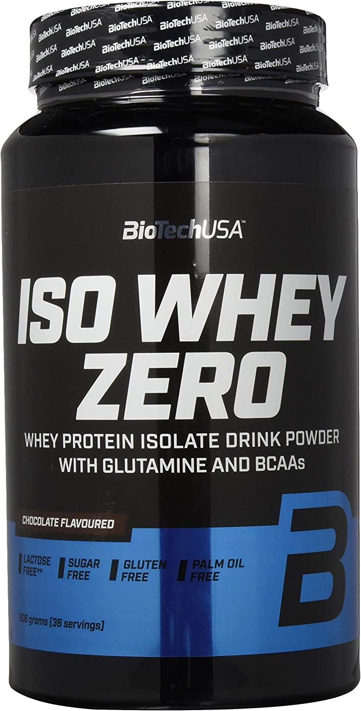 Biotech USA Iso Whey Zero, Chocolate - 908 g: Amazon.es ...