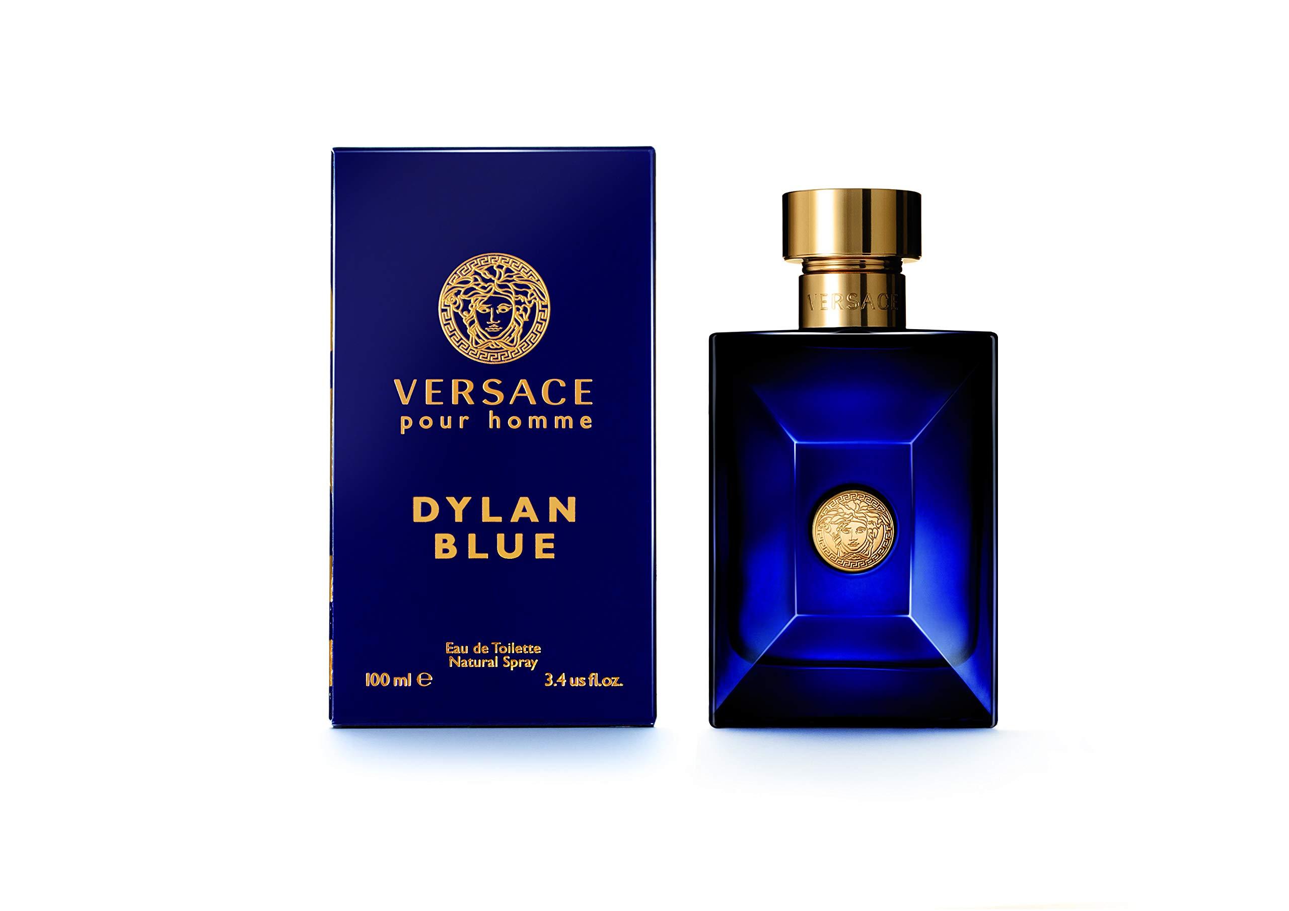VERSACE Pour Homme Sealed Dylan Blue Eau de Toilette, 3.4 Ounce by Versace