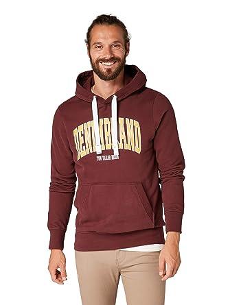 competitive price ec85c fcbfa Tom Tailor Denim Herren Hoodie rot XL: Amazon.de: Bekleidung