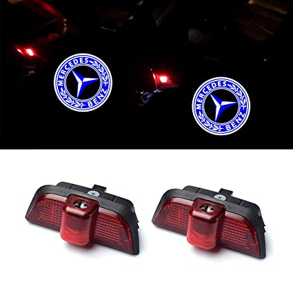 ZTMYZFSL 2 Unids Coche Logo Proyección Proyector LED Puerta ...