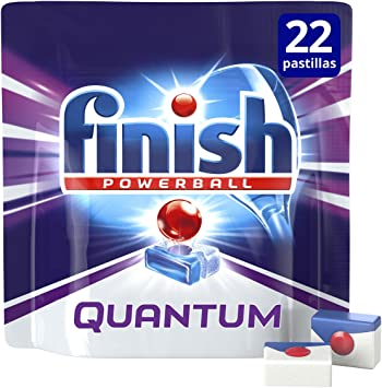 Finish Quantum Regular Pastillas para Lavavajillas - 16 + 6 ...