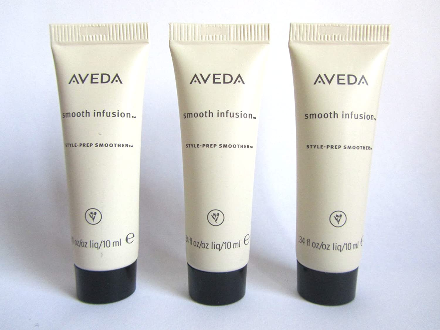 Aveda Aveda Smooth Infusion Style Prep Smoother for Hair Set of 3 Each 0.34 oz