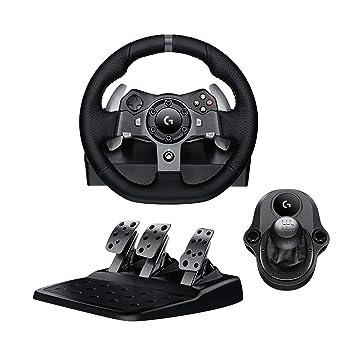 872d0520c84 Pack Logitech Volant G920 + pédalier pour Xbox One / PC + levier de vitesse  Driving. Passez la souris sur ...