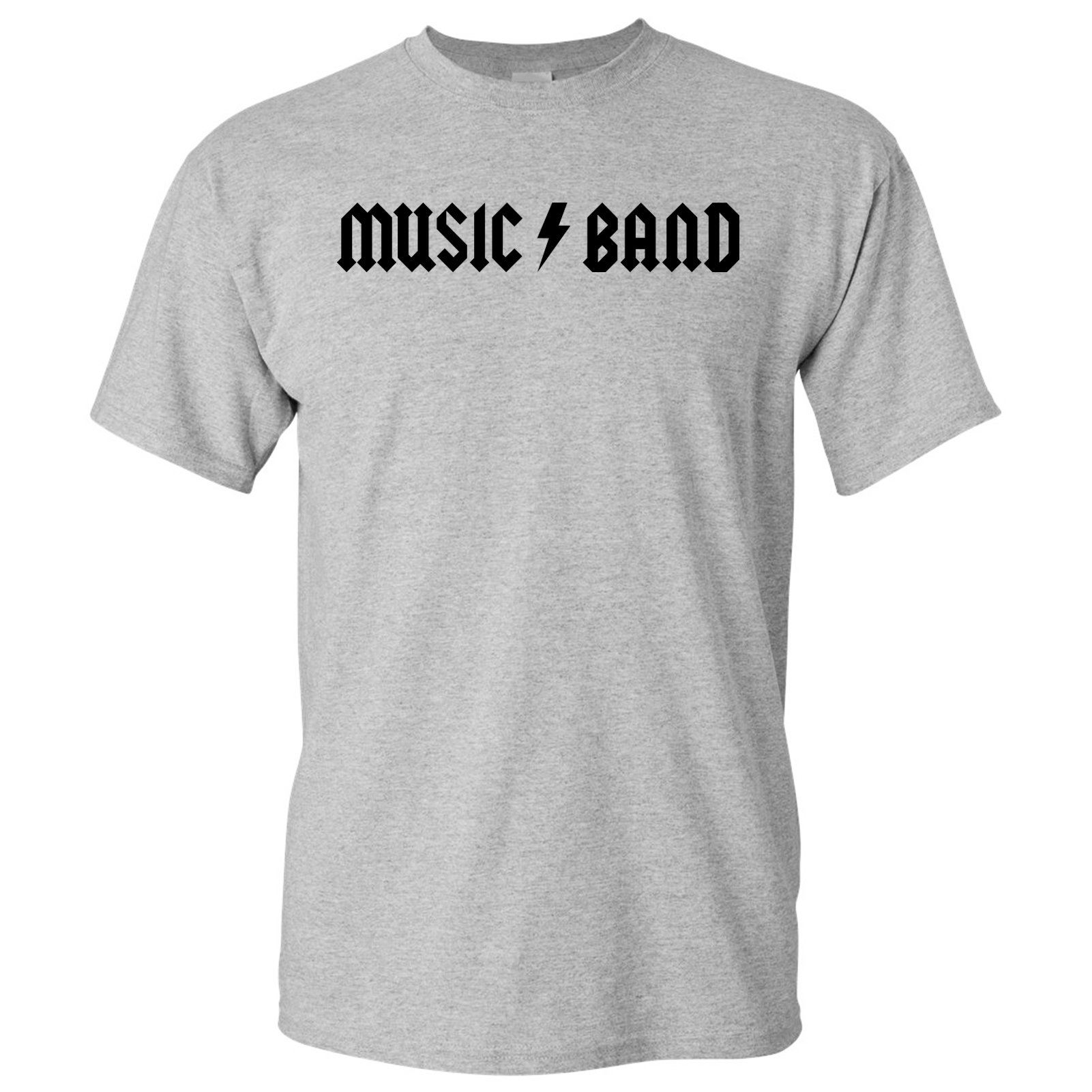 Music Band - Funny Rock Metal Band Parody Fellow Kid Meme T Shirt - Medium - Sport Grey