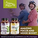 Anxiety Supplements and Mood Boost with Ashwagandha - Stress and Anxiety Relief for Depression, Social Anxiety, Sleep Aid with Calming Effect - 60 St. John's Wort, 5HTP, GABA and Ashwagandha Capsules