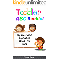 Toddler ABC Booklet: My First ABC Alphabet Book for Kids (English Edition)