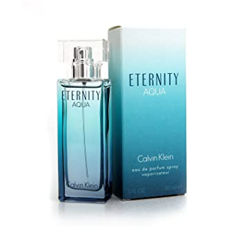 Amazoncom Calvin Klein Eternity Aqua Eau De Parfum 1 Fl Oz