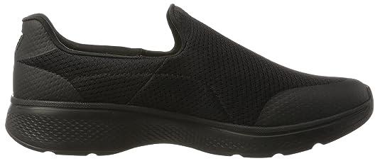 Skechers 54152, Sneakers Basses Homme Noir Black (BBK), 41.5 3E EU