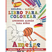 Libro para colorear Español - Alemán I Aprender
