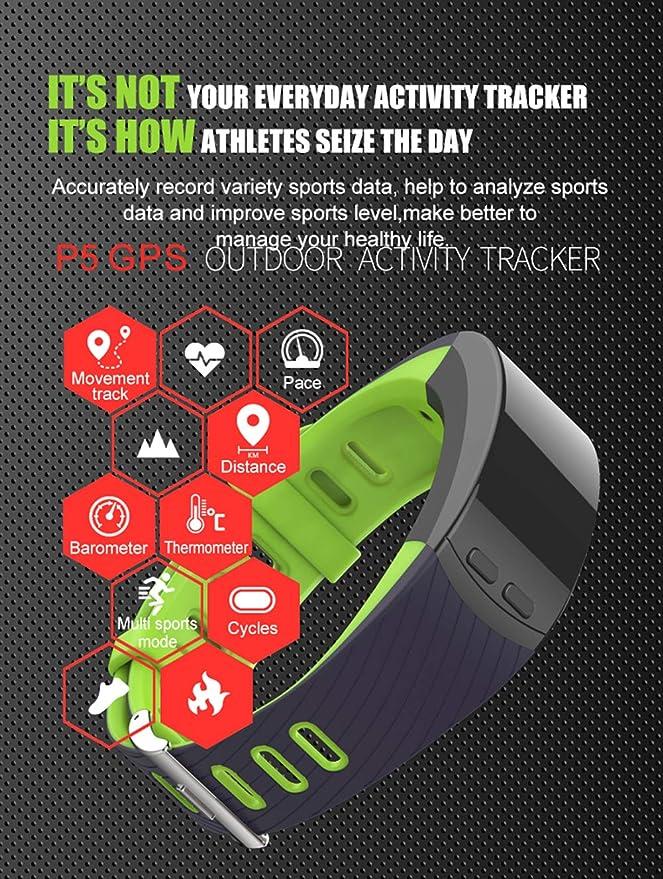 weiwe Pulsera 3D de Deportes, Funcionando podómetro Pulsera, Monitoreo del sueño, Contador de calorías-C: Amazon.es: Deportes y aire libre