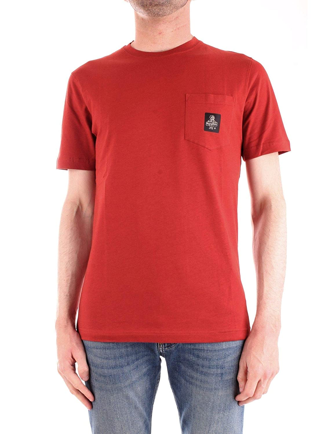 Brand Size S REFRIGIWEAR Men's T22600RED Red Cotton T-Shirt