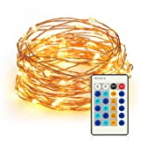 Amazon Price History for:Kootek 33ft 100 LEDs Fairy String Lights with Remote Control Dimmable Copper Wire Rope Lights, UL Certified Christmas Lights for Patio, Garden, Homes, Holiday, Party, Indoor, Wedding Decorations