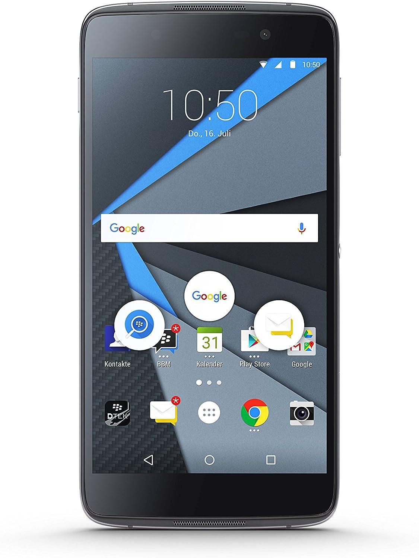Blackberry Dtek50 Smartphone 13 2 Cm Schwarz Elektronik
