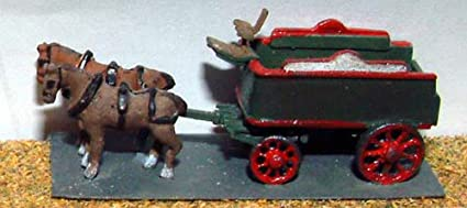 Brewery Dray horse drawn N Scale 1:148 UNPAINTED Kit E23 Langley Models