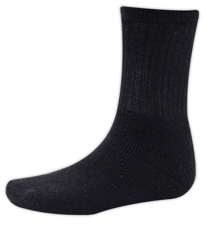 Black Cotton Rich Cushion Sole Socks Size 6-11 15 Pairs Of Men/'s Sport Socks