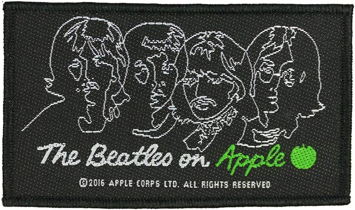 The Beatles On Apple Patch English Rock Band Woven Sew On Applique