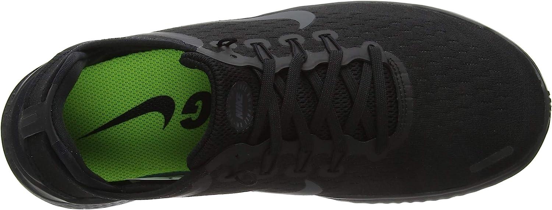 Nike Free RN 2018, Chaussures de Running Homme Noir Black Anthracite 002