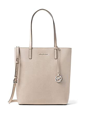 c6a1c99749 Amazon.com  MICHAEL MICHAEL KORS Hayley Large Top-Zip Leather Tote ...