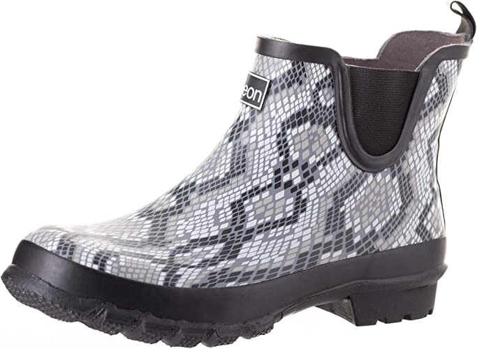 top design newest classic Amazon.com   Jileon Ankle Height Wide Calf Rain Boots  Specially ...