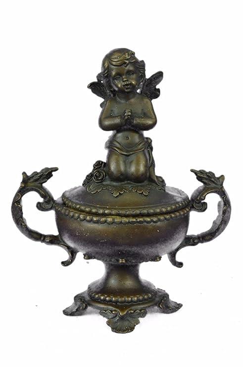 Amazon.com: ... Handmade... Europea Escultura de bronce ...