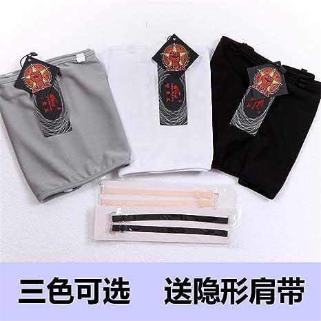 BaronHong sin tirantes de malla de pecho de carpeta de corsé corto Sport Bra para Tomboy lesbiana: Amazon.es: Ropa y accesorios
