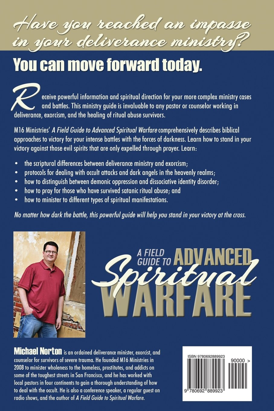 A Field Guide to Advanced Spiritual Warfare: Deliverance, Exorcism, and  Healing the Effects of Ritual Abuse (M16 Ministries A Field Guide Training  Series) ...
