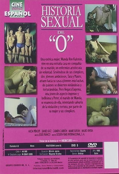 Historia Sexual De O Dvd Amazon Es Alicia Principe Daniel