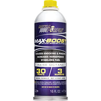 Royal Purple 11757 Max-Boost Octane Booster and Stabilizer - 16 oz.