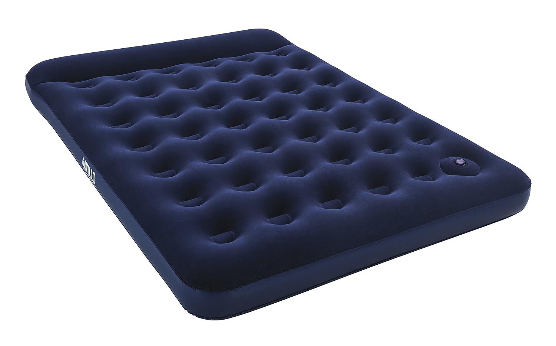 Bestway Blue Horizon Step Pavillo Einzel-/Luftbett, 185x76x28 cm, mit integrierter Fußpumpe BW67223