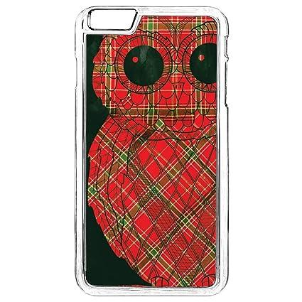 Amazon.com: Carcasa para iPhone 6S Plus, diseño de búhos ...