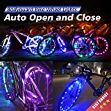 Amazon Price History for:Bodyguard Bike Wheel Lights - Auto Open and Close - Ultra Bright LED - Bicycle Wheel Spoke / Light String (1 pack) - Colorful Bicycle Tire Accessories- Waterproof