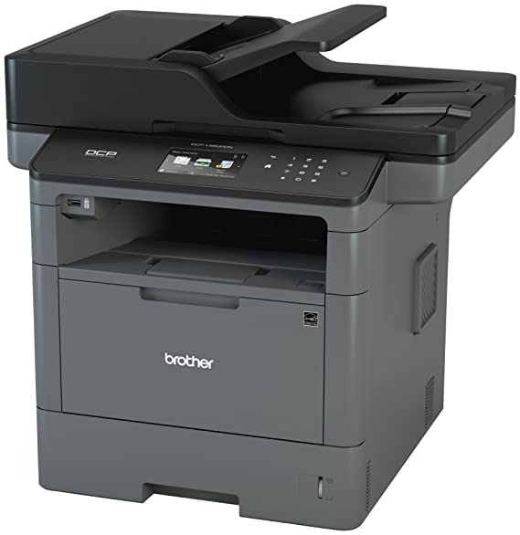 Brother Monochrome Laser Printer, Multifunction Printer and Copier, DCP-L5600DN, Flexible Network Connectivity, Duplex Printing, Mobile Printing, ...